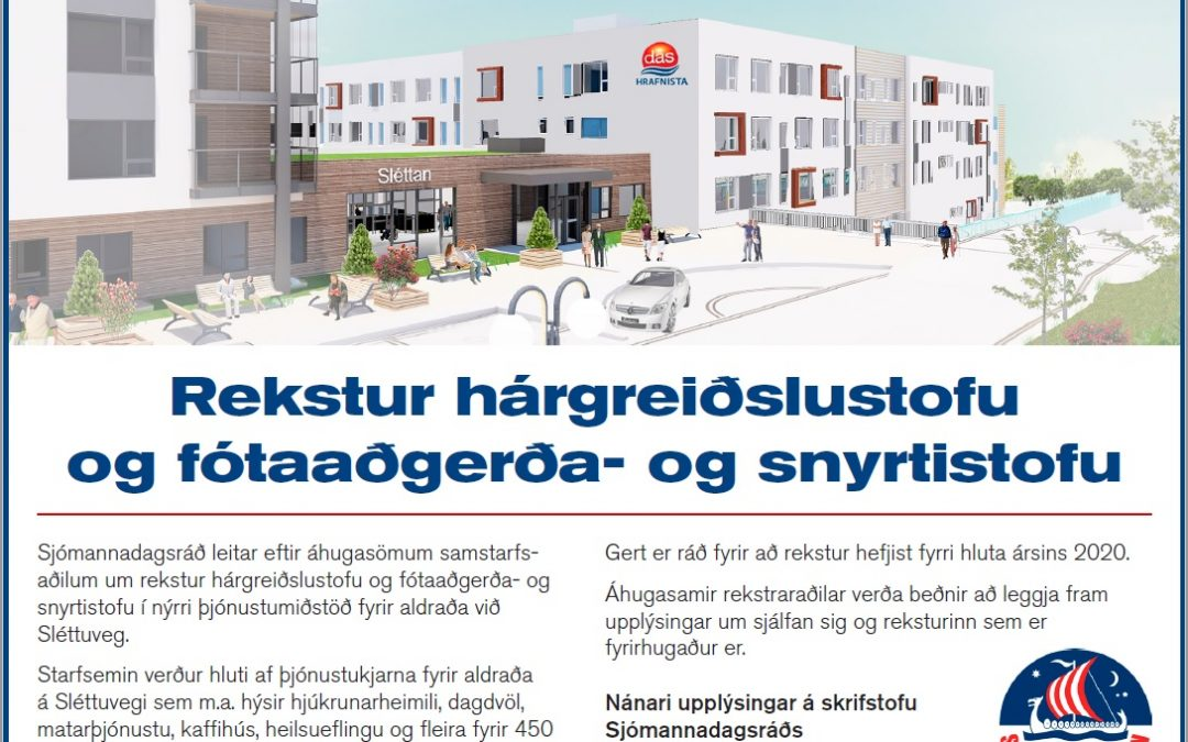 Rekstur hárgreiðslustofu og fótaaðgerða- og snyrtistofu