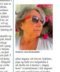 Viðtal við íbúa á Sléttuvegi 27